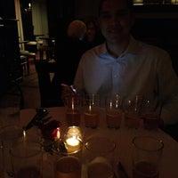 Photo taken at Stella Manhattan Bistro by Cristina J. on 3/22/2012