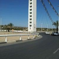 Photo taken at Puente Del Bimilenario by Gold C. on 4/11/2012