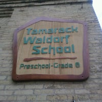 Photo taken at Tamarack Waldorf School by Babs on 3/7/2012