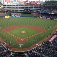 Photo taken at Globe Life Park in Arlington by Darin J. on 8/24/2012