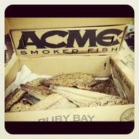 Photo taken at Acme Smoked Fish by Jonathan L. on 5/25/2012