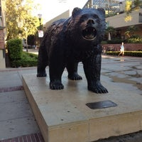 Photo taken at UCLA Bruin Statue by Uriel on 7/20/2012