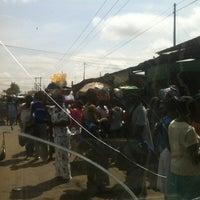 Photo taken at Madina Market by Mantse on 6/16/2012