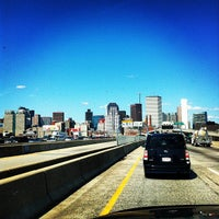 Photo taken at 4th Street Bridge by Joshua C. on 4/13/2012