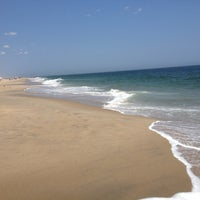 Photo taken at Manasquan Beach by Caitlin on 5/29/2012