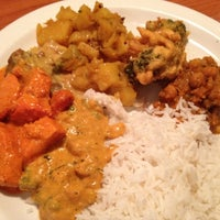 Photo taken at Dale's Indian Cuisine by Ann Marie v. on 2/25/2012