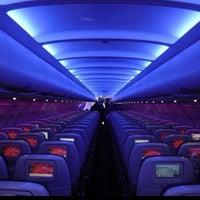 Photo taken at Virgin America by Scott F. on 3/10/2012