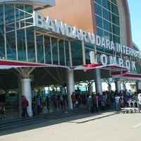 Photo taken at Lombok International Airport (LOP) by Abhi R. on 8/24/2012