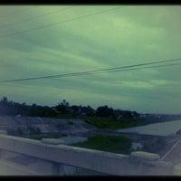 Photo taken at Jaro Floodway by Philip Ceasar H. on 3/17/2012