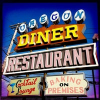 Photo taken at Oregon Diner by Argo 2. on 3/17/2012