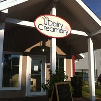 Photo taken at UDairy Creamery by Bruce L. on 7/29/2012