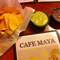 Photo taken at Cafe Maya by Kimberly M. on 6/2/2012