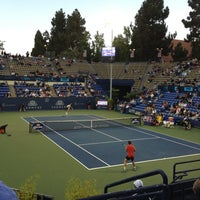 Photo taken at UCLA Los Angeles Tennis Center by David N. on 7/27/2012
