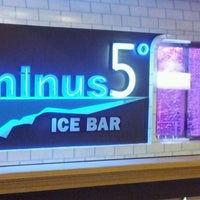 Photo taken at Minus5° Ice Lounge by Willem B. on 3/26/2012