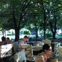 Photo taken at Atlantik Plaza / Площад Атлантески by lo l. on 7/19/2012