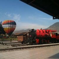 Photo taken at Estación de Tren Chimbacalle by David G. on 7/18/2012