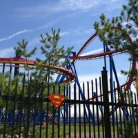 Photo taken at Six Flags Great Adventure by Linda Y. on 8/21/2012