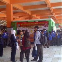 Photo taken at Terminal Kampung Rambutan by Enn D. on 8/14/2012