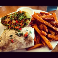 Photo taken at Veggie Grill by Tricia Pauline V. on 7/27/2012