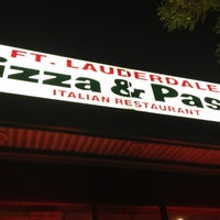 Photo taken at Ft. Lauderdale Pizza & Pasta by Geoff P. on 2/20/2012