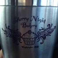 Photo taken at Starry Night Bakery by Karen B. on 2/3/2012