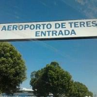 Photo taken at Aeroporto de Teresina / Senador Petrônio Portella (THE) by Jetro J. on 8/22/2012