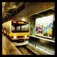 Photo taken at JR 新宿駅 15-16番線ホーム by hrsk115 on 5/13/2012