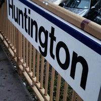 Photo taken at LIRR - Huntington Station by Wyatt S. on 4/19/2012