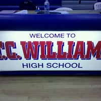 Photo taken at T.C. Williams High School by Evan C. on 4/21/2012