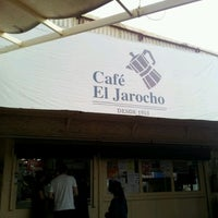 Photo taken at Café El Jarocho by Samuel E A. on 3/10/2012