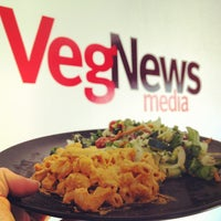 Photo taken at VegNews Magazine by Whitney L. on 4/3/2012