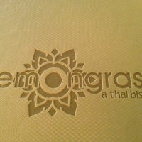 Photo taken at Lemongrass... A Thai Bistro by Lesley C. on 4/4/2012