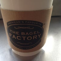 Photo taken at The Bagel Factory by Iarno C. on 3/17/2012