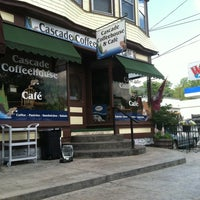 Photo taken at Cascade Coffee House by Geoff K. on 8/3/2012