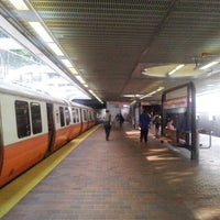 Photo taken at MBTA Roxbury Crossing Station by neopage on 8/12/2012