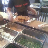 Photo taken at Krazi Kebob by R C. on 7/17/2012