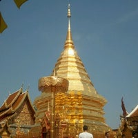 Photo taken at Wat Phrathat Doi Suthep by Joe K. on 4/13/2012