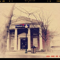 Photo taken at Capital One Bank by Nakeva (Photography) C. on 3/5/2012
