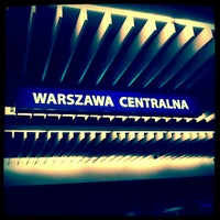 Photo taken at Warszawa Centralna by Paweł O. on 2/5/2012