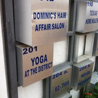 Photo taken at Dominic's Hair Affair by Mari-chu C. on 2/19/2012