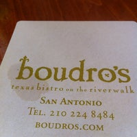 Photo taken at Boudro's by Mary J. on 7/7/2012