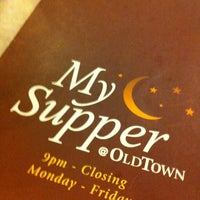 Photo taken at OldTown White Coffee by lyana y. on 7/30/2012