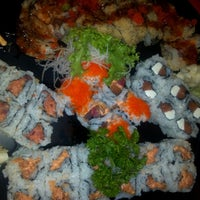 Photo taken at Akasaka Sushi by arianna on 5/24/2012