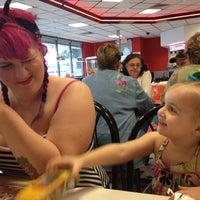 Photo taken at Steak 'n Shake by Cait O. on 5/8/2012