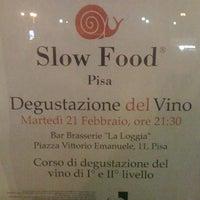 Photo taken at Brasserie La Loggia by Flavio R. on 2/28/2012