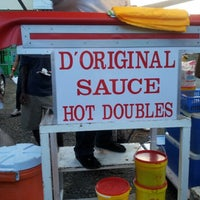 Photo taken at Sauce Doubles Vendor by Selvyn K. on 8/4/2012