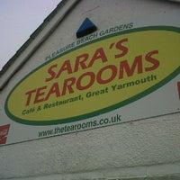 Photo taken at Sara's Tearooms by Matthew S. on 3/2/2012