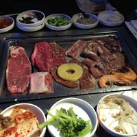 Photo taken at Gen Korean BBQ House by Anabel E. on 6/15/2012
