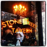 Photo taken at Stone Street Tavern by Collin K. on 4/6/2012