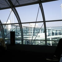 Photo taken at Gate F49 by Arseniy I. on 8/19/2012